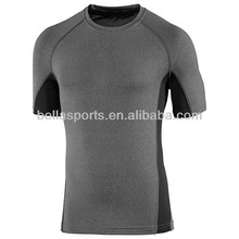 Mens sport jersey top, fitness t-shirt in dry fit