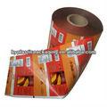embalagem de plástico laminado de filme de rolo