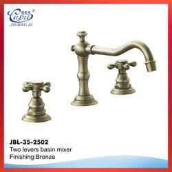 Classic dual flow spout kitchen faucet