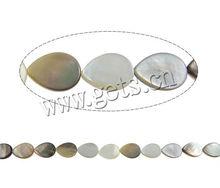 teardrop shape black-lip shell beads