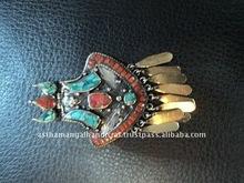 handmade metal pendant