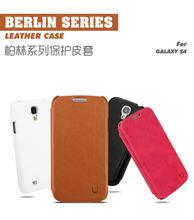 USAMS Berlin series Vesper color change PU and Super Fiber case for samsung galaxy s4