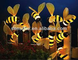 solar string light with 10 bees solar garden light