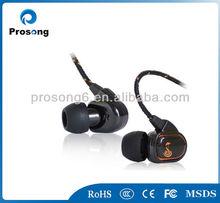 custom package braided wire colorful hands-free earphone popular earphone