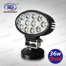 36W Oval High Power New LED Work Light for ATV, UTV, off-Road, Marine (RG-WL-016)