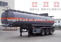 Fabricante Tongya superventas 3-axle tapa del depósito de combustible transportador