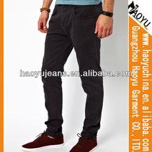 Para sonho de homem negro, Atacado la idol jeans, Calças de brim oem ( HYM265 )