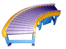 Gravity Stainless steel/plastic Roller Conveyor for cases/boxes/pallet/flat bottom product in warehouse