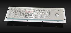 Mini IP65 kiosk industrial metal Keyboard