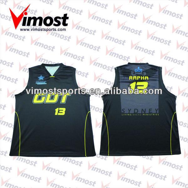 custom 100% polyester basketball tops
