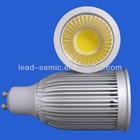 GU10 COB led spotlight 5w/5.5w/7w replace 50W halogen