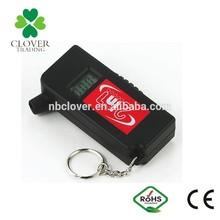 2 in 1 keychain Portable Digital Tire Gauge for Car