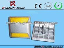 RSG high brightness 100*100*65mm traffic safety aluminum reflective road