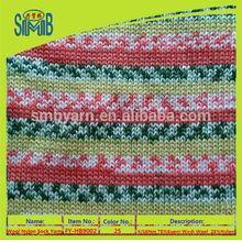 wholesale 75/25 wool/nylon hand knitting yarn for socks