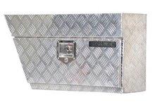 CHECKER PLATE ALUMINIUM TOOL BOX