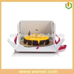 Customized design paper cupcake box