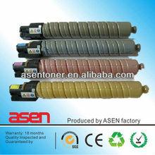 Zhuhai Asen copier printer toner cartridge MPC 2800 compatile for Ricoh MP C2800/3300