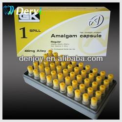 Dental lab material Amalgam Capsules 1 Spill 400mg (Yellow) Dental supply