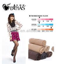 10D korea sexy girl core-spun yarn T crotch pantyhose/transparent tights