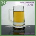 350ml glas bier maßgeschneiderte belgischen griff mug