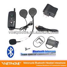 BT intercom headset for motorcycle helmet with bluetooth interphone
