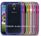 Soft Gel / Hard Edge Bumper Cover Case Fits Samsung Galaxy S4 i9500 Mobile Phone