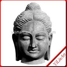 Sanstone Luckly Buddha Head ,Buddha Head Statue (YL-J004)