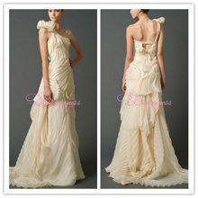 designer unique dresses one shoulder yellow dress prom dresses uk 2014