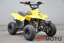 New yellow 50cc 110cc Kids ATV with front dual disc brake