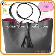 Napa Leather women's handbag/ versatile tote in guangzhou