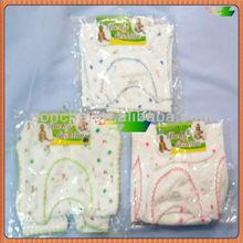 cheap cotton baby suit with imprint set