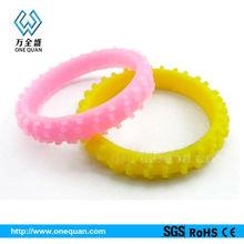 one direction silicone bracelets/fashion bracelet for football