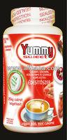 Premium quality sweetener powder with portioning spoon
