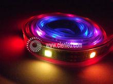 black light led strip 5050 32pixels/m Digital,5v Clen Strip RGB LED Strip Light HL1606 For Hotel Corridor/ aura/ stair rail