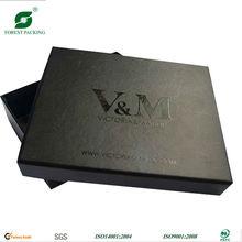 DELICATE BLACK CARDBOARD T-SHIRT BOX(FP600136)