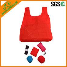 Foldable Eco 190T Polyester T-shirt Bag