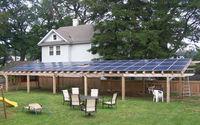 Blueusn high quality On-grid solar system 100kw power station