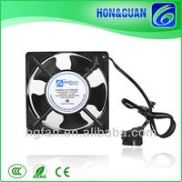 High Speed Small Black Lead Wire 120mm 220V Cooling Fan, Industrial Fan, Exhaust Fan Motor Fan Blade for Ac Motor
