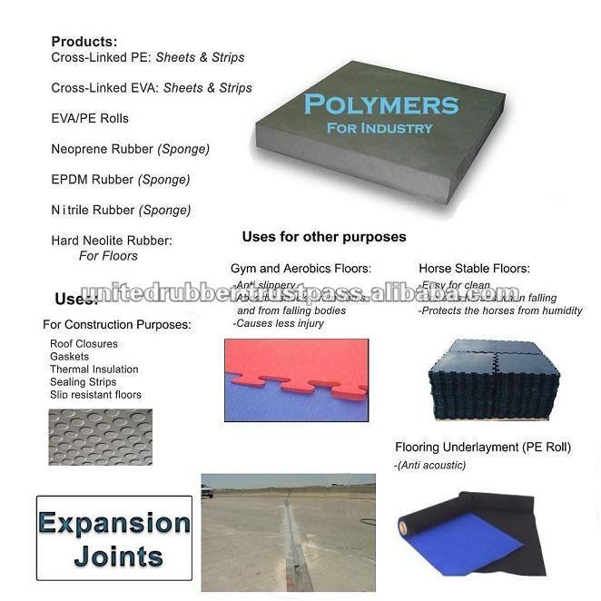 Rubber / EVA / PE expansion joint