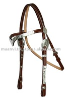 English Leather Western Headstall