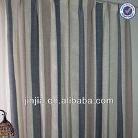 MT 3008 Ikea style valance curtain door curtain silk drape stripe curtain