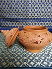 curcuma petit pot made from clay cp-01005