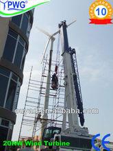 20KW china wind turbine manufacturer