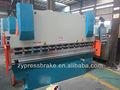 Wc67y/k 250t/6000 presse plieuse hydraulique outil/machine à cintrer