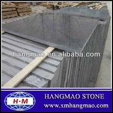 High cut to size polished blue limestone,limestone tile