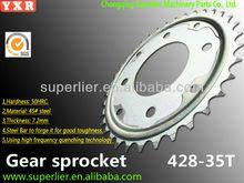 1045 steel renthal GS 125 motorcycle sprockets gear