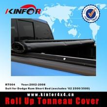 Soft pick up tonneau cover for Dodge Ram Short Bed (excludes '02 2500/3500) Model 2002-2008