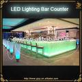 personalizar el diseño de morden larga led tabla de la barra comercial para muebles pub