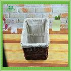 wholesale square wicker basket