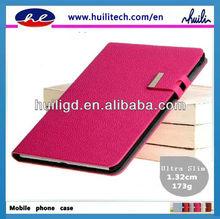 2013 Fashionable Ultra slim leather Case For Ipad Mini